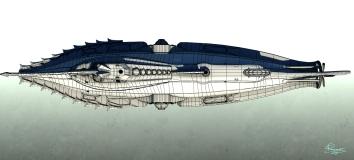 Nautilus Wireframe